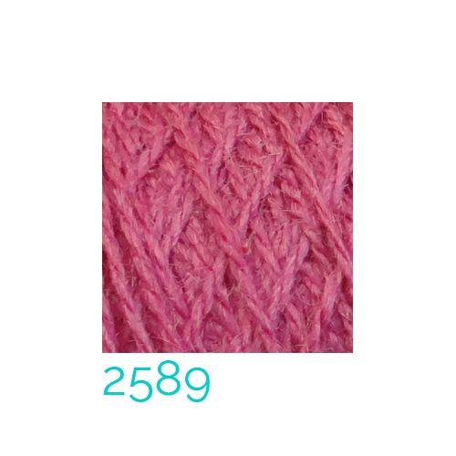 Tussah-Seide in der Farbe 2589 zum Klöppeln, Stricken, Häkeln in der Klöppelwerkstatt erhältlich