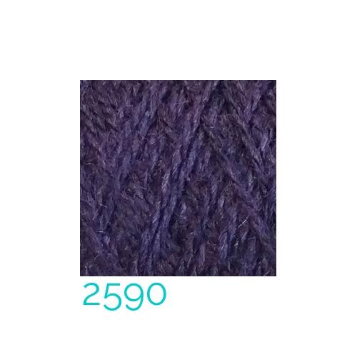 Tussah-Seide in der Farbe 2590 zum Klöppeln, Stricken, Häkeln in der Klöppelwerkstatt erhältlich