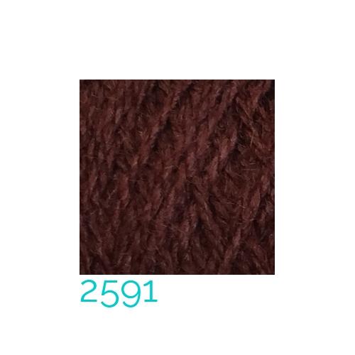 Tussah-Seide in der Farbe 2591 zum Klöppeln, Stricken, Häkeln in der Klöppelwerkstatt erhältlich