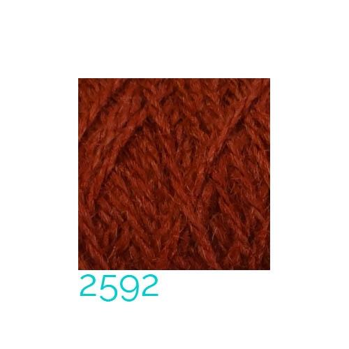 Tussah-Seide in der Farbe 2592 zum Klöppeln, Stricken, Häkeln in der Klöppelwerkstatt erhältlich
