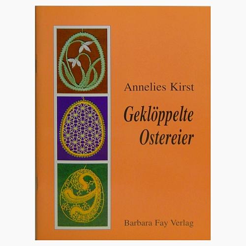 Geklöppelte Ostereier ~ Annelies Kirst - in der Klöppelwerkstatt erhältlich