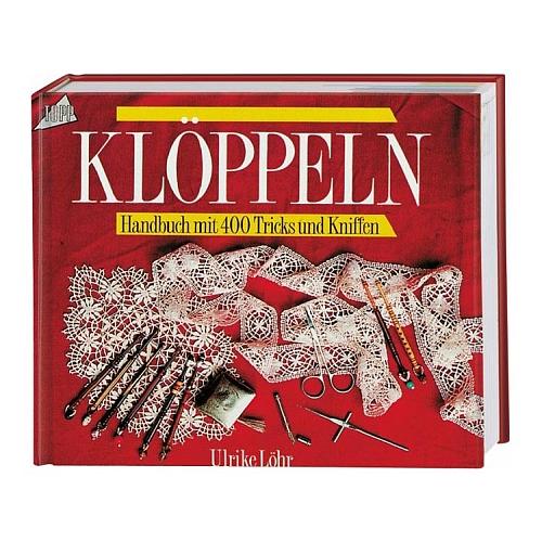 Klöppeln - Handbuch mit 400 Tricks und Kniffen ~ Ulrike Löhr (Voelcker), in der Klöppelwerkstatt, klöppeln lernen, Schläge, Gründe, Bänder, Verbindungen