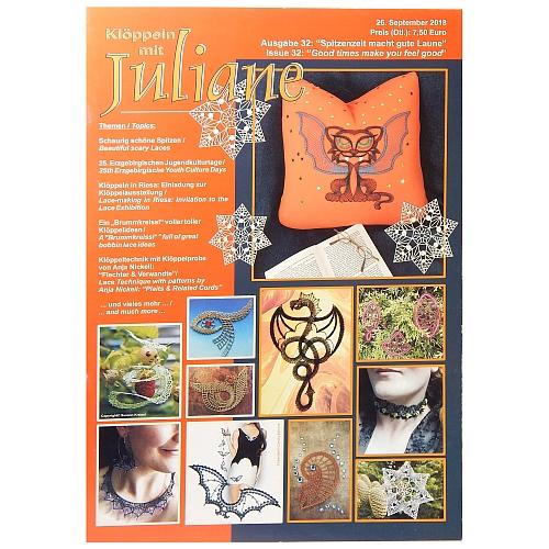 Klöppeln mit Juliane Heft Nr. 32 in der Klöppelwerkstatt