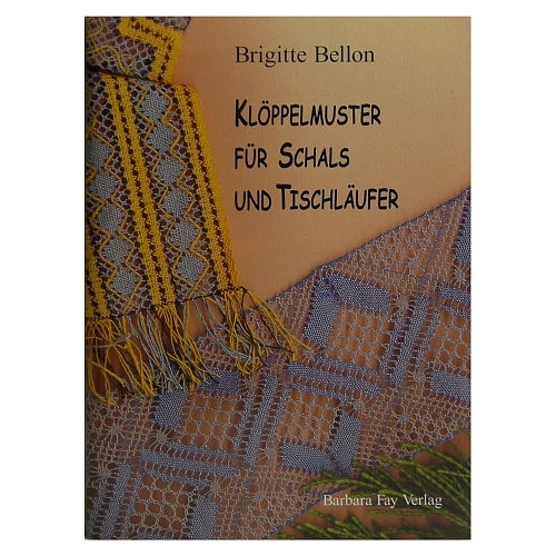 Klöppelmuster für Schals und Tischläufer ~ Brigitte Bellon in der Klöppelwerkstatt erhältlich