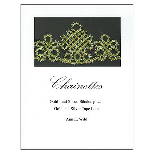 Chainettes Gold- und Silber-Bänderspitzen ~ Ann E. Wild in der Klöppelwerkstatt erhältlich