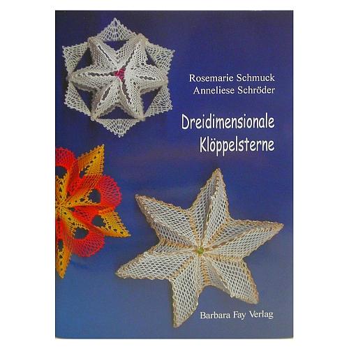 Dreidimensionale Klöppelsterne ~ Rosemarie Schmuck/Anneliese Schröder in der Klöppelwerkstatt, Torchontechnik