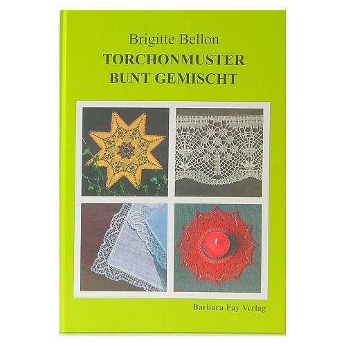 Torchonmuster bunt gemischt ~ Brigitte Bellon in der Klöppelwerkstatt