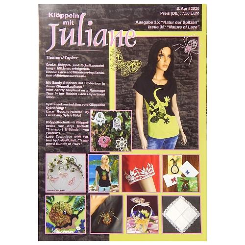 Klöppeln mit Juliane Heft Nr. 35 in der Klöppelwerkstatt