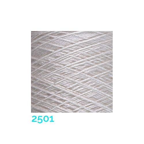 Schappe Seide Nm 120/2 x 4 Farbe 2501, in der Klöppelwerkstatt, zm Stricken, Häkeln, Weben, für Kumihimo und zum Klöppeln geeignet, Seidengarn, Seidengarne