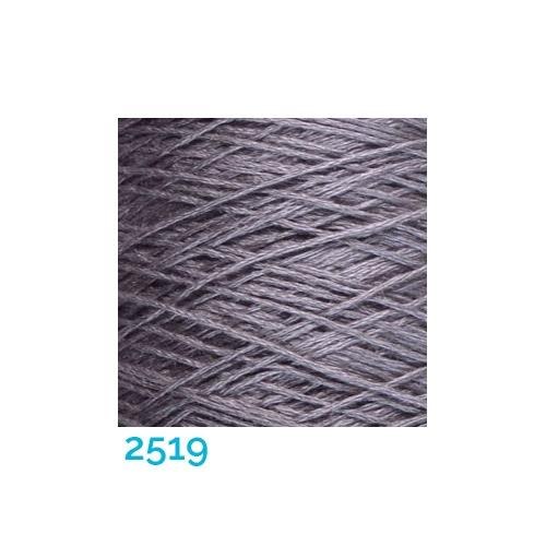 Schappe Seide Nm 120/2 x 4 Farbe 2519, in der Klöppelwerkstatt, zm Stricken, Häkeln, Weben, für Kumihimo und zum Klöppeln geeignet, Seidengarn, Seidengarne