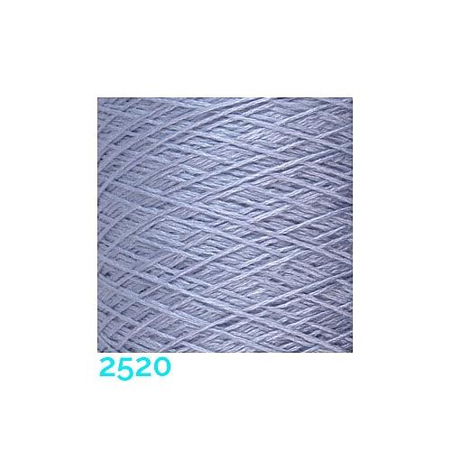 Schappe Seide Nm 120/2 x 4 Farbe 2520, in der Klöppelwerkstatt, zm Stricken, Häkeln, Weben, für Kumihimo und zum Klöppeln geeignet, Seidengarn, Seidengarne