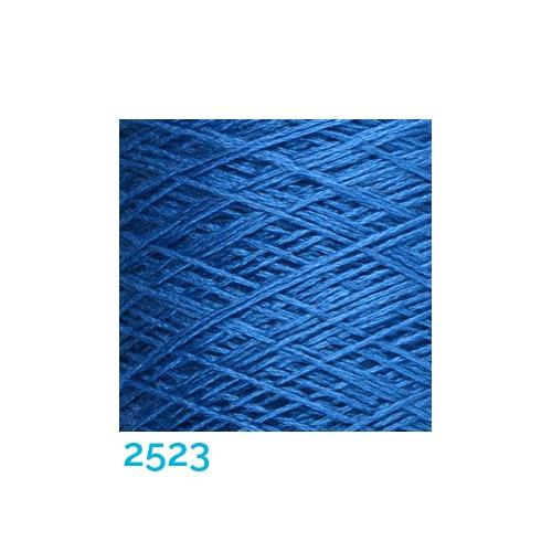 Schappe Seide Nm 120/2 x 4 Farbe 2523, in der Klöppelwerkstatt, zm Stricken, Häkeln, Weben, für Kumihimo und zum Klöppeln geeignet, Seidengarn, Seidengarne