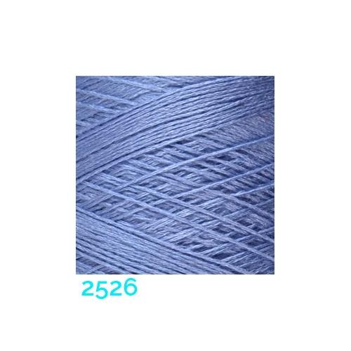 Schappe Seide Nm 120/2 x 4 Farbe 2526, in der Klöppelwerkstatt, zm Stricken, Häkeln, Weben, für Kumihimo und zum Klöppeln geeignet, Seidengarn, Seidengarne