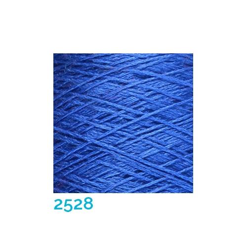 Schappe Seide Nm 120/2 x 4 Farbe 2528, in der Klöppelwerkstatt, zm Stricken, Häkeln, Weben, für Kumihimo und zum Klöppeln geeignet, Seidengarn, Seidengarne