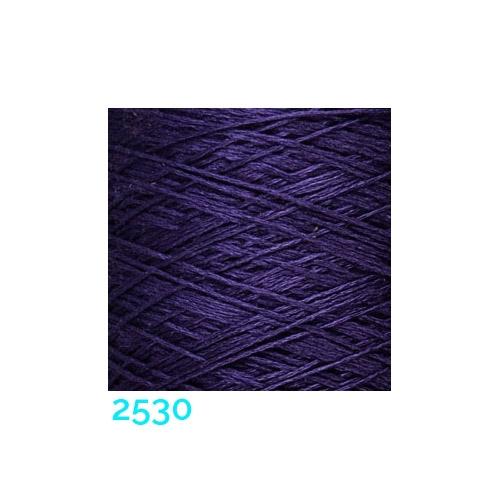 Schappe Seide Nm 120/2 x 4 Farbe 2530, in der Klöppelwerkstatt, zm Stricken, Häkeln, Weben, für Kumihimo und zum Klöppeln geeignet, Seidengarn, Seidengarne