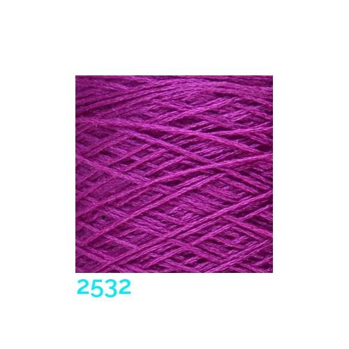 Schappe Seide Nm 120/2 x 4 Farbe 2532, in der Klöppelwerkstatt, zm Stricken, Häkeln, Weben, für Kumihimo und zum Klöppeln geeignet, Seidengarn, Seidengarne