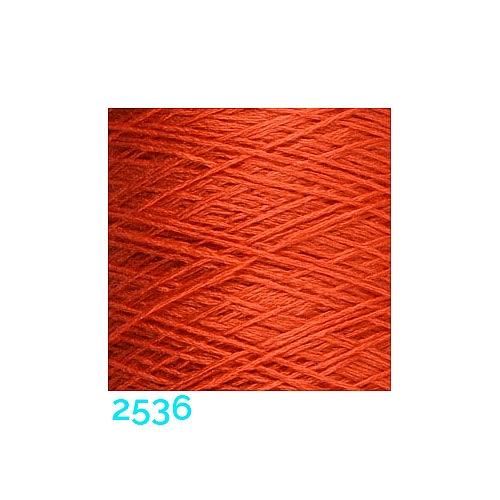 Schappe Seide Nm 120/2 x 4 Farbe 2536, in der Klöppelwerkstatt, zm Stricken, Häkeln, Weben, für Kumihimo und zum Klöppeln geeignet, Seidengarn, Seidengarne