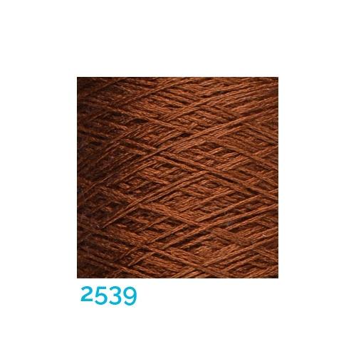 Schappe Seide Nm 120/2 x 4 Farbe 2539, in der Klöppelwerkstatt, zm Stricken, Häkeln, Weben, für Kumihimo und zum Klöppeln geeignet, Seidengarn, Seidengarne