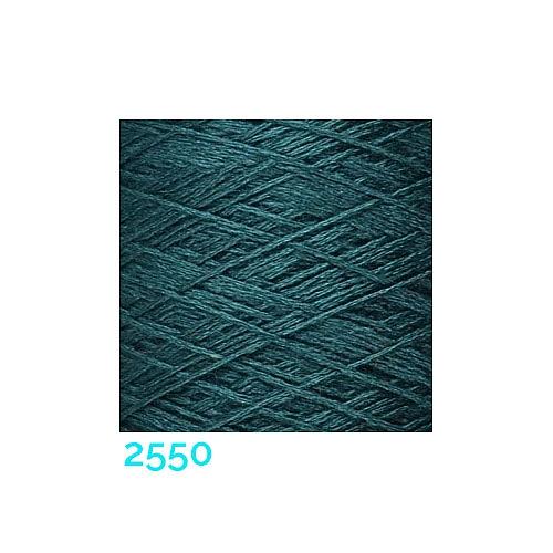 Schappe Seide Nm 120/2 x 4 Farbe 2550, in der Klöppelwerkstatt, zm Stricken, Häkeln, Weben und Klöppeln geeignet, Seidengarn, Seidengarne