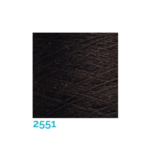 Schappe Seide Nm 120/2 x 4 Farbe 2551, in der Klöppelwerkstatt, zm Stricken, Häkeln, Weben, für Kumihimo und zum Klöppeln geeignet, Seidengarn, Seidengarne