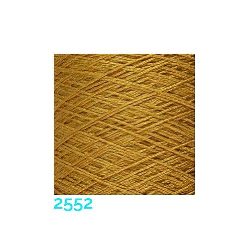 Schappe Seide Nm 120/2 x 4 Farbe 2552,in der Klöppelwerkstatt, zm Stricken, Häkeln, Weben und Klöppeln geeignet, Seidengarn, Seidengarne