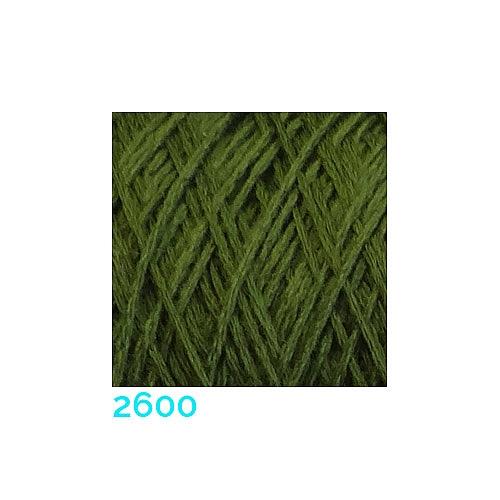 Schappe Seide Nm 120/2 x 4 Farbe 2560, in der Klöppelwerkstatt, zm Stricken, Häkeln, Weben und Klöppeln geeignet, Seidengarn, Seidengarne