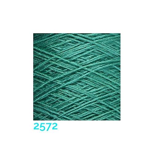 Schappe Seide Nm 120/2 x 4 Farbe 2572, in der Klöppelwerkstatt, zm Stricken, Häkeln, Weben und Klöppeln geeignet, Seidengarn, Seidengarne