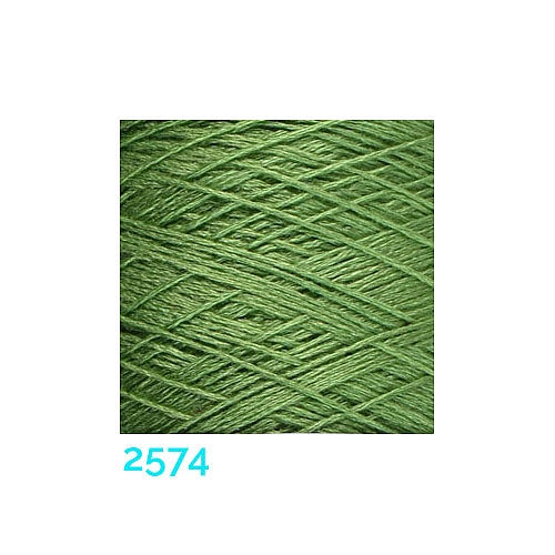 Schappe Seide Nm 120/2 x 4 Farbe 2574,in der Klöppelwerkstatt, zm Stricken, Häkeln, Weben und Klöppeln geeignet, Seidengarn, Seidengarne