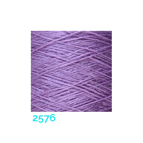 Schappe Seide Nm 120/2 x 4 Farbe 2576, in der Klöppelwerkstatt, zm Stricken, Häkeln, Weben, für Kumihimo und zum Klöppeln geeignet, Seidengarn, Seidengarne