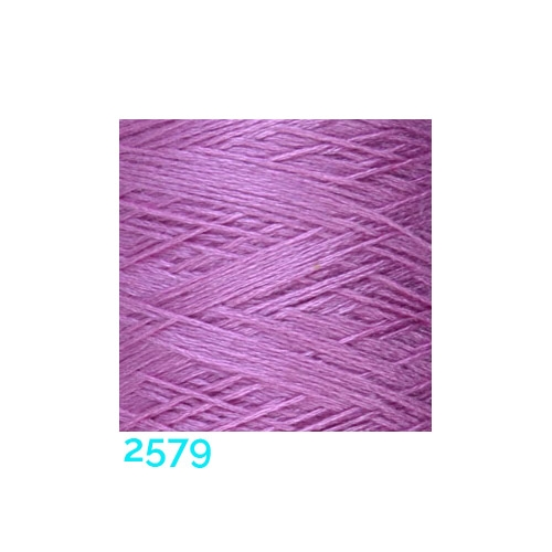 Schappe Seide Nm 120/2 x 4 Farbe 2579, in der Klöppelwerkstatt, zm Stricken, Häkeln, Weben, für Kumihimo und zum Klöppeln geeignet, Seidengarn, Seidengarne