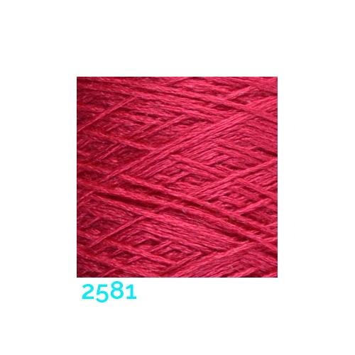 Schappe Seide Nm 120/2 x 4 Farbe 2581, in der Klöppelwerkstatt, zm Stricken, Häkeln, Weben, für Kumihimo und zum Klöppeln geeignet, Seidengarn, Seidengarne
