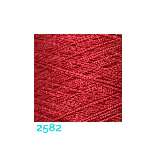 Schappe Seide Nm 120/2 x 4 Farbe 2582, in der Klöppelwerkstatt, zm Stricken, Häkeln, Weben, für Kumihimo und zum Klöppeln geeignet, Seidengarn, Seidengarne