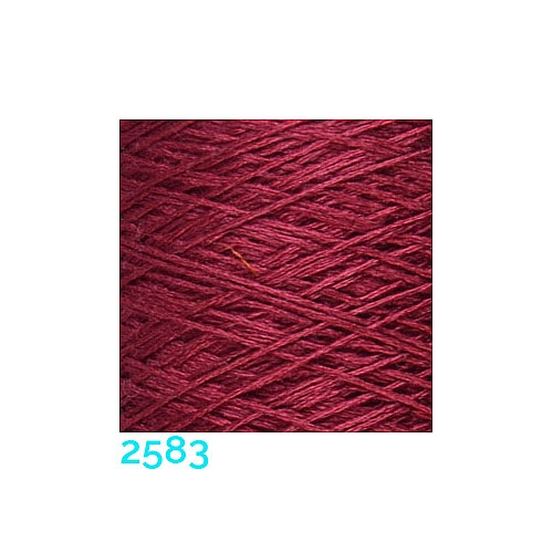 Schappe Seide Nm 120/2 x 4 Farbe 2583, in der Klöppelwerkstatt, zm Stricken, Häkeln, Weben, für Kumihimo und zum Klöppeln geeignet, Seidengarn, Seidengarne