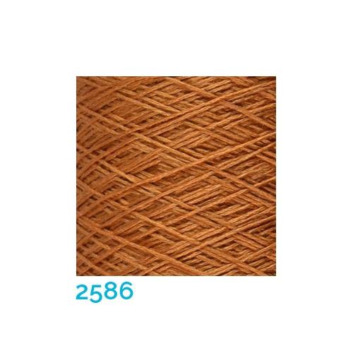 Schappe Seide Nm 120/2 x 4 Farbe 2586, in der Klöppelwerkstatt, zm Stricken, Häkeln, Weben, für Kumihimo und zum Klöppeln geeignet, Seidengarn, Seidengarne