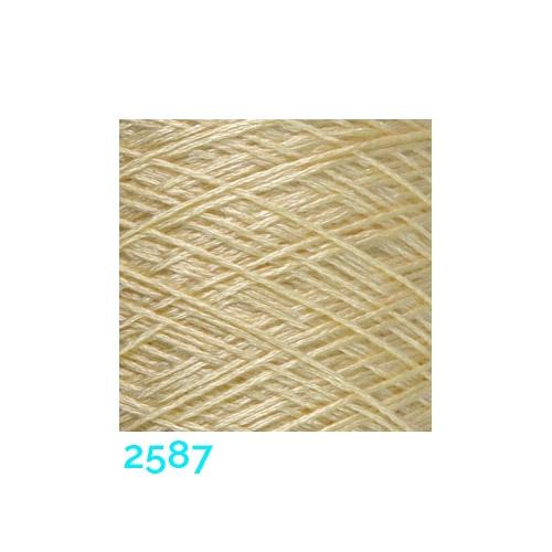 Schappe Seide Nm 120/2 x 4 Farbe 2587, in der Klöppelwerkstatt, zm Stricken, Häkeln, Weben, für Kumihimo und zum Klöppeln geeignet, Seidengarn, Seidengarne