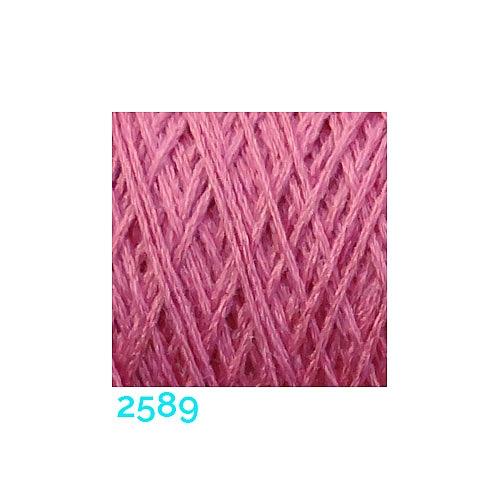 Schappe Seide Nm 120/2 x 4 Farbe 2589, in der Klöppelwerkstatt, zm Stricken, Häkeln, Weben, für Kumihimo und zum Klöppeln geeignet, Seidengarn, Seidengarne