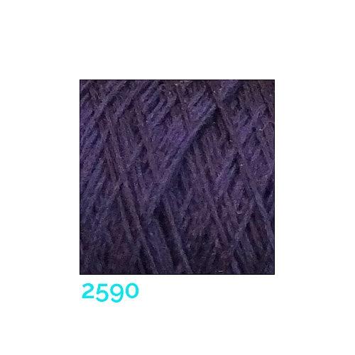Schappe Seide Nm 120/2 x 4 Farbe 2590, in der Klöppelwerkstatt, zm Stricken, Häkeln, Weben, für Kumihimo und zum Klöppeln geeignet, Seidengarn, Seidengarne