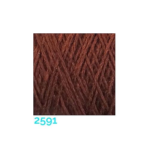 Schappe Seide Nm 120/2 x 4 Farbe 2591, in der Klöppelwerkstatt, zm Stricken, Häkeln, Weben, für Kumihimo und zum Klöppeln geeignet, Seidengarn, Seidengarne
