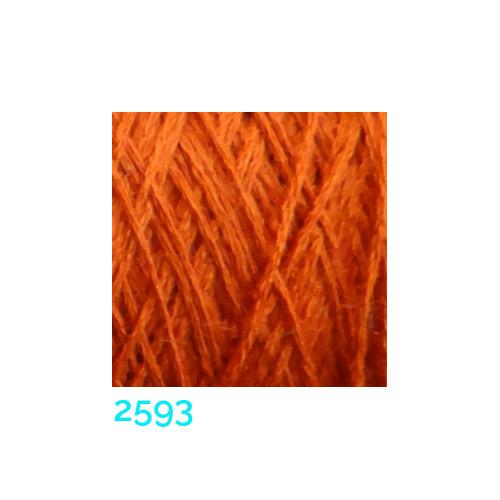 Schappe Seide Nm 120/2 x 4 Farbe 2593, in der Klöppelwerkstatt, zm Stricken, Häkeln, Weben und Klöppeln geeignet, Seidengarn, Seidengarne