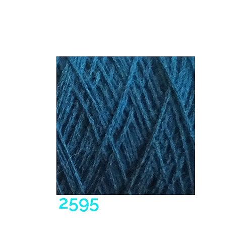 Schappe Seide Nm 120/2 x 4 Farbe 2595, in der Klöppelwerkstatt, zm Stricken, Häkeln, Weben, für Kumihimo und zum Klöppeln geeignet, Seidengarn, Seidengarne