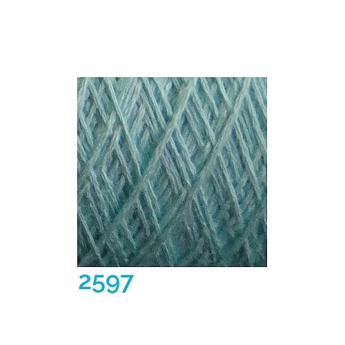 Schappe Seide Nm 120/2 x 4 Farbe 2597, in der Klöppelwerkstatt, zm Stricken, Häkeln, Weben, für Kumihimo und zum Klöppeln geeignet, Seidengarn, Seidengarne