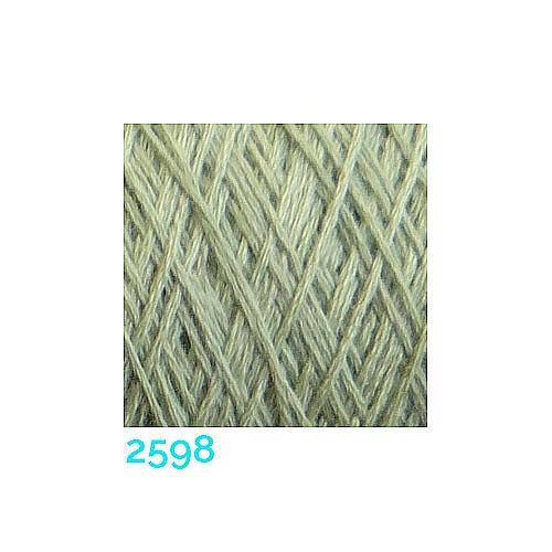 Schappe Seide Nm 120/2 x 4 Farbe 2598, in der Klöppelwerkstatt, zm Stricken, Häkeln, Weben und Klöppeln geeignet, Seidengarn, Seidengarne