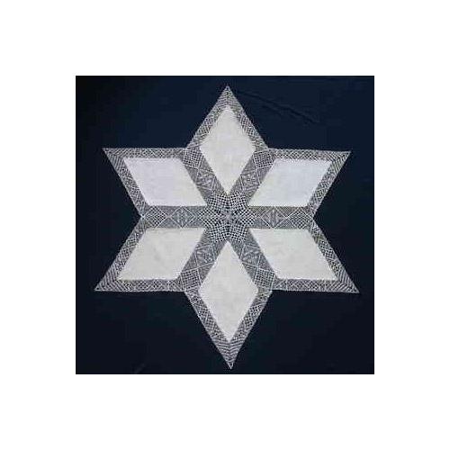 Klöppelbrief Anhäkelform Rhombus MSch112 ~ Inge Theuerkauf in der Klöppelwerkstatt