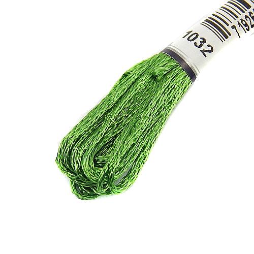 Anchor Marlitt 4-fädiges Glanzstickgarn in 90 hochglänzenden Farben lieferbar, zum Klöppeln, als Konturfaden, zum Sticken, Häkeln, in der Klöppelwerkstatt erhältlich. Farbe 1032