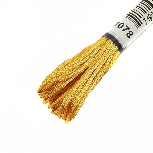 Anchor Marlitt 4-fädiges Glanzstickgarn in 90 hochglänzenden Farben lieferbar, zum Klöppeln, als Konturfaden, zum Sticken, Häkeln, in der Klöppelwerkstatt erhältlich. Farbe 1078