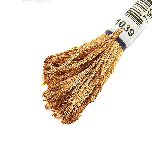 Anchor Marlitt 4-fädiges Glanzstickgarn in 90 hochglänzenden Farben lieferbar, zum Klöppeln, als Konturfaden, zum Sticken, Häkeln, in der Klöppelwerkstatt erhältlich. Farbe 1039
