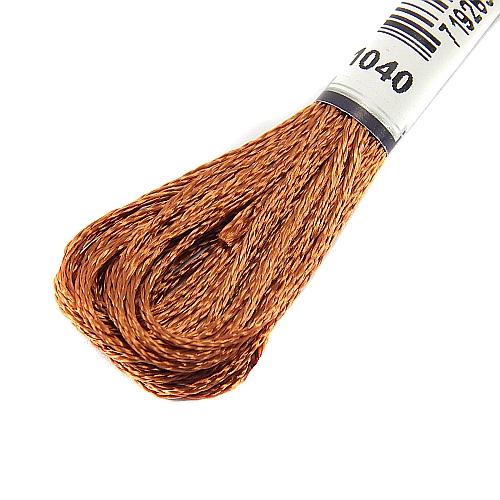 Anchor Marlitt 4-fädiges Glanzstickgarn in 90 hochglänzenden Farben lieferbar, zum Klöppeln, als Konturfaden, zum Sticken, Häkeln, in der Klöppelwerkstatt erhältlich. Farbe 1040