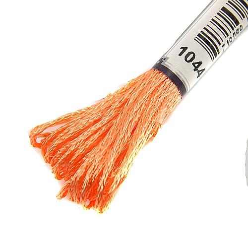 Anchor Marlitt 4-fädiges Glanzstickgarn in 90 hochglänzenden Farben lieferbar, zum Klöppeln, als Konturfaden, zum Sticken, Häkeln, in der Klöppelwerkstatt erhältlich. Farbe 1044