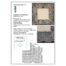 Klöppelbrief Anhäkelform Quadrat ~ Marie-Luise Prinzhorn, der Klöppelbrief für das Lochranddeckchen von der Firma Zweigart ist in der Klöppelwerkstatt erhältlich.
