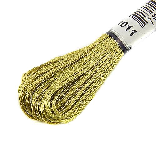 Anchor Marlitt 4-fädiges Glanzstickgarn in 90 hochglänzenden Farben lieferbar, zum Klöppeln, als Konturfaden, zum Sticken, Häkeln, in der Klöppelwerkstatt erhältlich. Farbe 1011